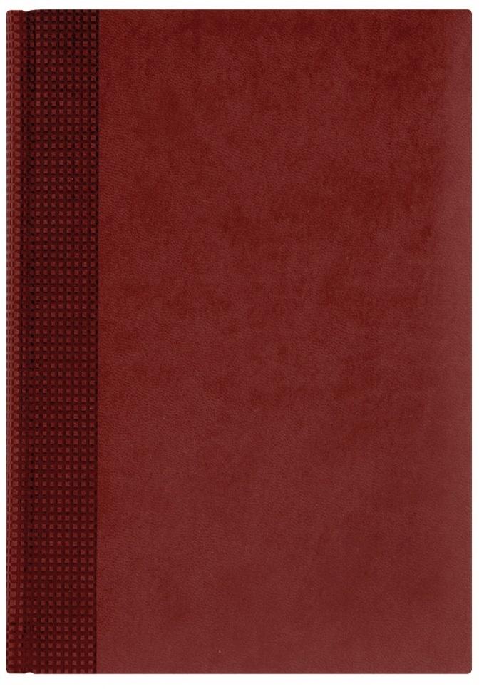 Nazarenogabrielli Ежедневник недатированный Velvet цвет красный XX05451220-100-ITXX05451220-100-ITГладкий, матовый материал с основой под нубук. Общий цветовой фон ровный, слегка проступает мельчайший «кожаный» рисунок на полтона светлее. Обложка декорирована вертикальным рельефным орнаментом в форме шашечек.