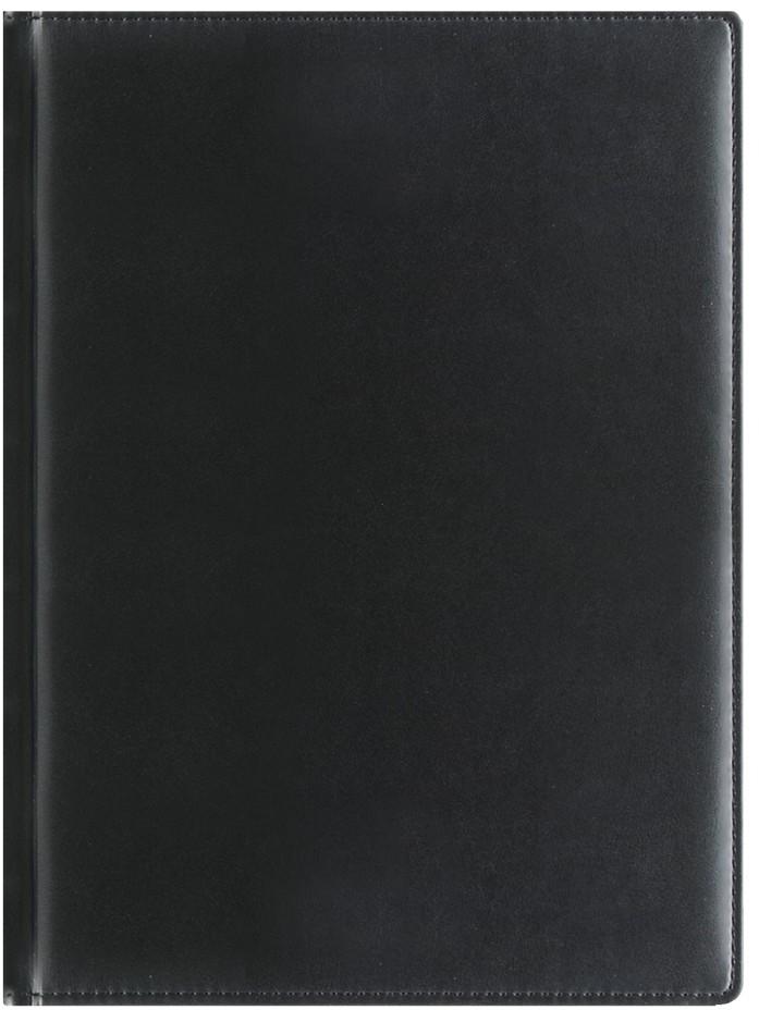 Nazarenogabrielli Ежедневник недатированный Reina цвет черныйXX0545226S-040В эту коллекцию маркетологи Nazarenogabrielli включили особую линейку ежедневников и планингов, изготавливаемых из качественного, но недорогого кожзама. В тоже время белая бумага исключительного качества, которая используется для производства продуктов данной линейки, отличается выдающейся мягкостью и удобством использования.