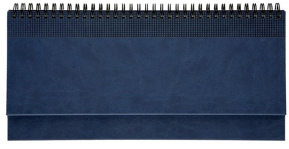 Nazarenogabrielli Планинг недатированный Velvet цвет синий XX05496810-030XX05496810-030Гладкий, матовый материал с основой под нубук. Общий цветовой фон ровный, слегка проступает мельчайший «кожаный» рисунок на полтона светлее. Обложка декорирована вертикальным рельефным орнаментом в форме шашечек.