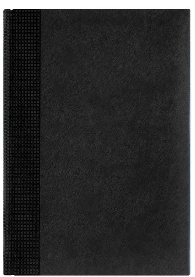 Nazarenogabrielli Ежедневник недатированный Velvet цвет черный XX05451220-091XX05451220-091Гладкий, матовый материал с основой под нубук. Общий цветовой фон ровный, слегка проступает мельчайший «кожаный» рисунок на полтона светлее. Обложка декорирована вертикальным рельефным орнаментом в форме шашечек.