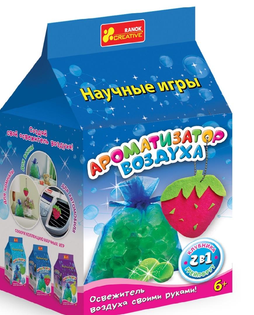 Ranok Набор для изготовления косметики Ароматизатор воздуха Клубника грейпфрут