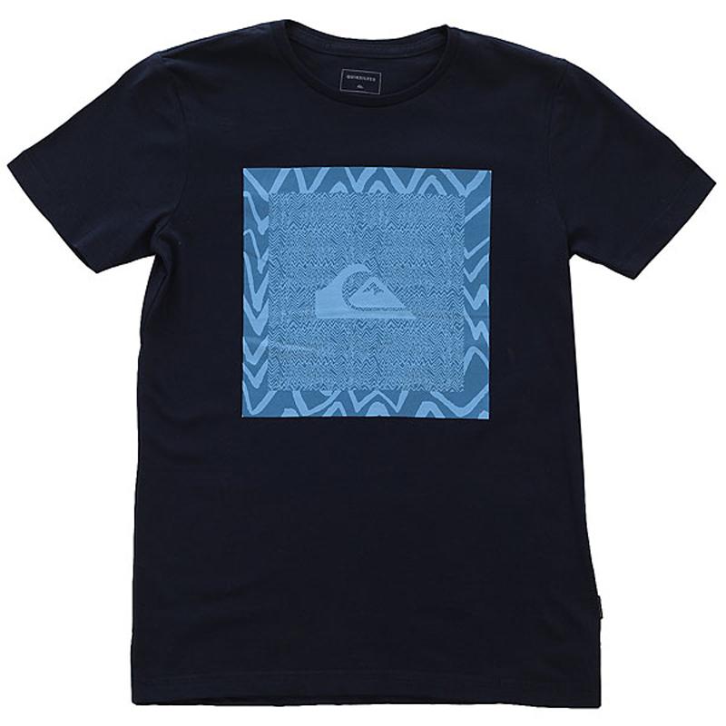 Футболка для мальчика Quiksilver, цвет: темно-синий. EQBZT03682-BYJ0. Размер 164/170 цена