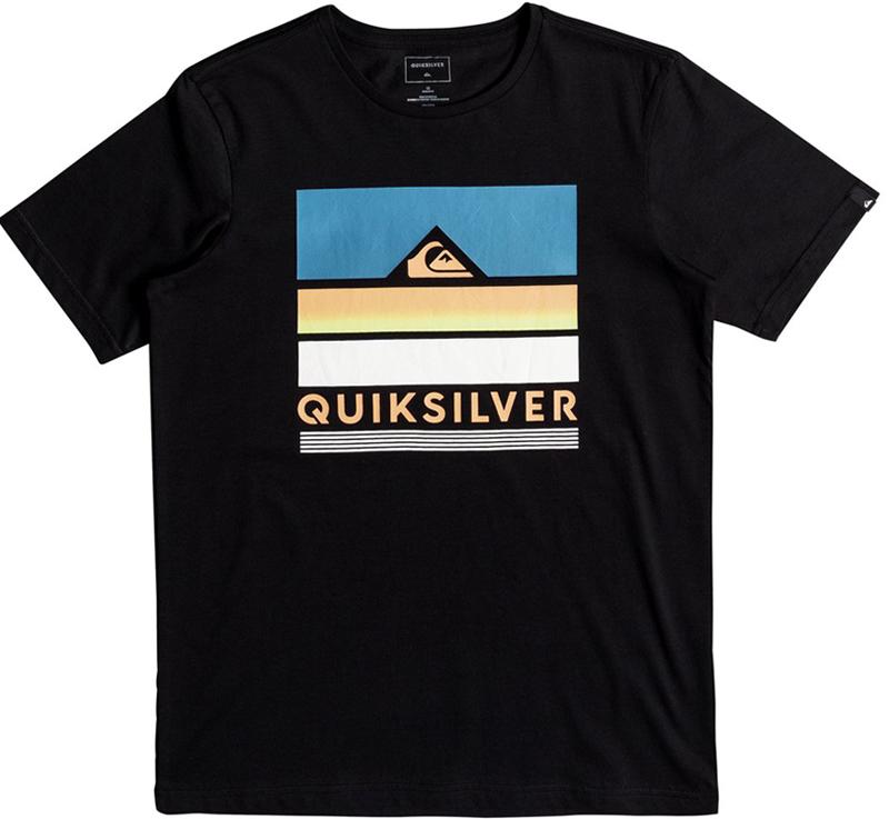 Футболка для мальчика Quiksilver, цвет: серый. EQBZT03681-KVJ0. Размер 164/170EQBZT03681-KVJ0