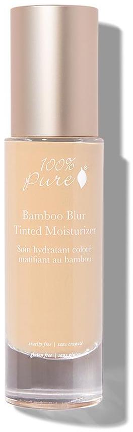 100% Pure Матирующий тональный крем Бамбук, тон Белый персик, 50 мл1CBBTMWPФормула с бамбуковым кремнеземом, фруктовыми и растительными пигментами, обеспечивает натуральное и регулируемое Вами покрытие кожи лица, от среднего до полного покрытия. Придает безупречный внешний вид коже лица. Является основой под макияж.