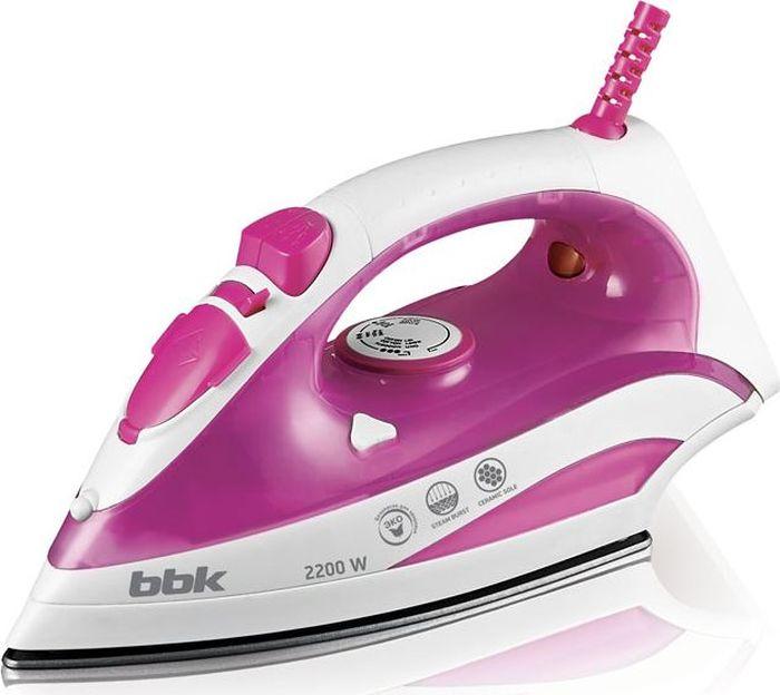 BBK ISE-2200, Pink утюг шарико винтовая пара mux ballscrew 2505 sfu2505 l 2200 ballnut cnc 2