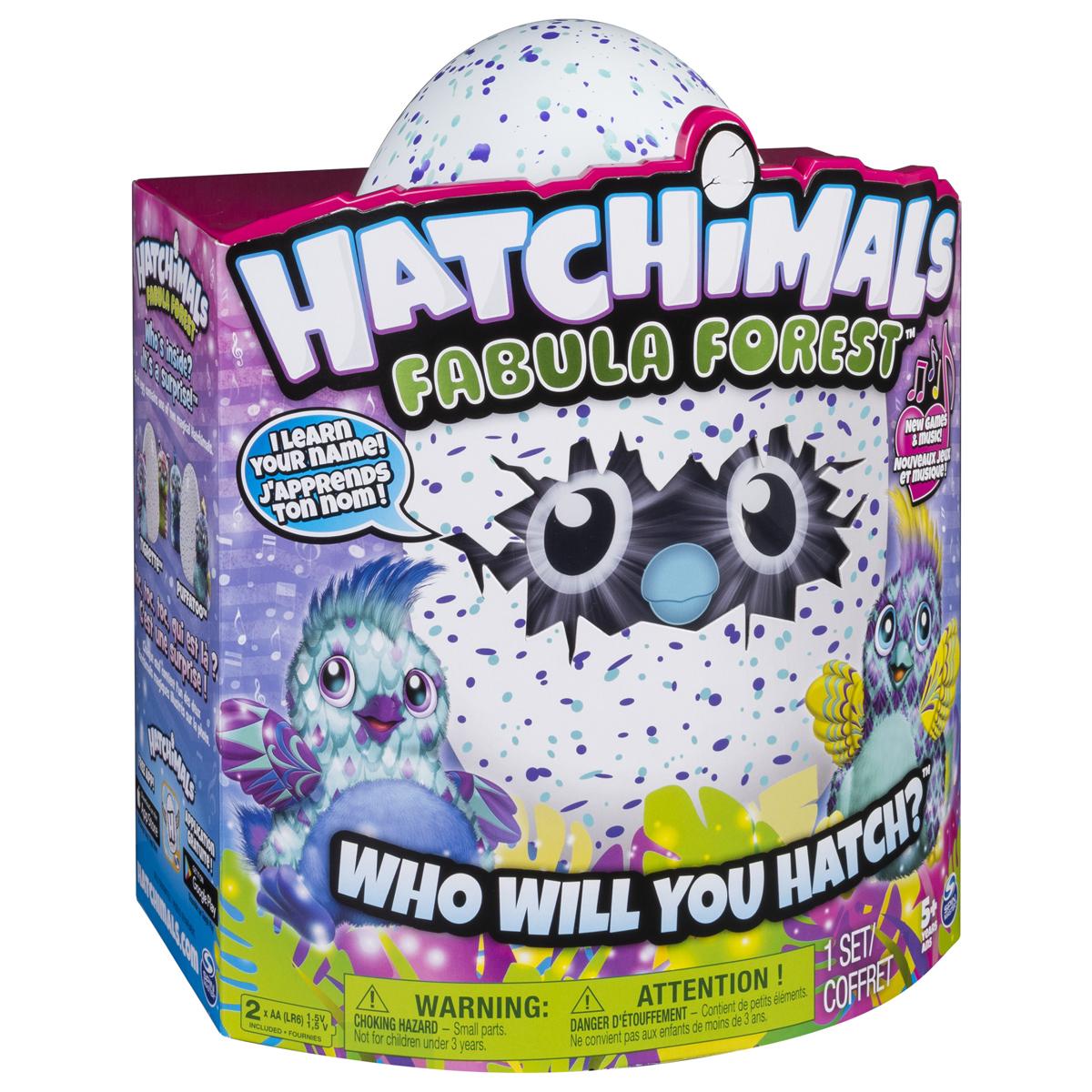 Hatchimals Интерактивный питомец вылупляющийся из яйца цвет голубой