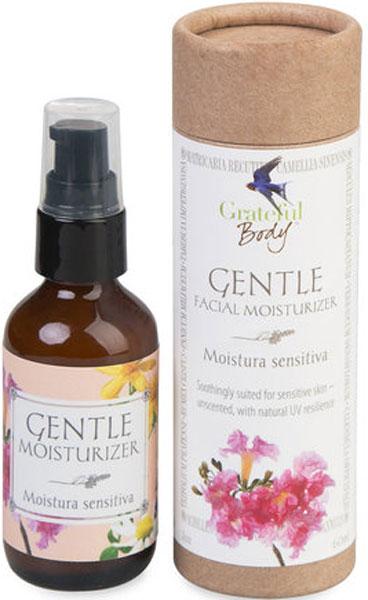 Grateful Body Органический увлажняющий крем для лица Нежность, 60 млMG99% ингредиентов органического происхождения. Нежный, с минимальным запахом успокаивающий крем для лица.Чувствительная, легко ранимая кожа будет процветать под присмотром этого исключительно мягкого, увлажняющего крема. Питательный и безопасный бленд укрепляющих растительных компонентов успокаивает и регенерирует клетки кожи, как результат здоровая и эластичная кожа и сияющее лицо.Содержит чувствительные к солнцу ингредиенты, которые помогают коже поглощать солнечные лучи, одновременно является растительным фильтром от солнца. Безопасный и полезный при аллергии к натуральным запахам. Идеальный для чувствительной кожи, но подходит и для всех типов кожи.