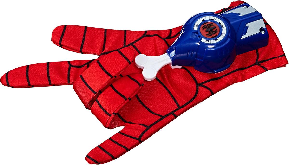 Spider-Man Интерактивная игрушка Перчатка Человек-паук hasbro игровой набор spider man перчатка человека паука со звуком