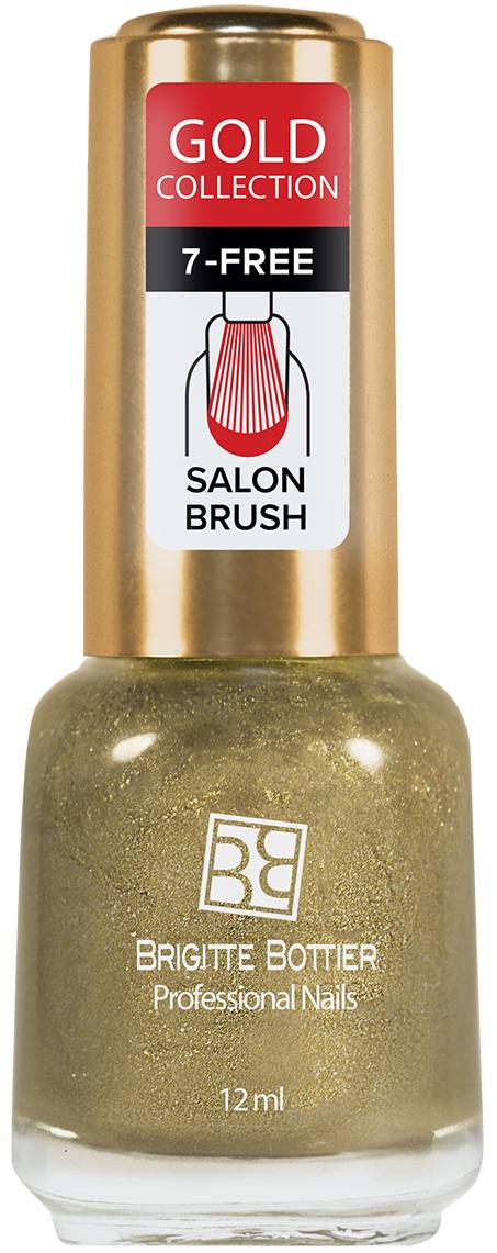 Brigitte Bottier лак для ногтей Gold Collection тон 504, 12 млBB-GL 504Золотой и серебряный лаки для ногтей - ошеломляющие тренды сезона осень-зима. В линейках представлены золотые и серебряные оттенки зеркальных, перламутровых лаков и лаков с блестками, которые хорошо сочетаются с любым оттенком кожи и особенно эффектны с вечерними нарядами.