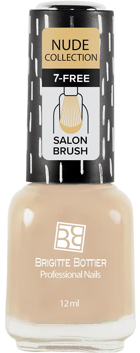 Brigitte Bottier лак для ногтей Nude Collection тон 183 кремовый, 12 мл