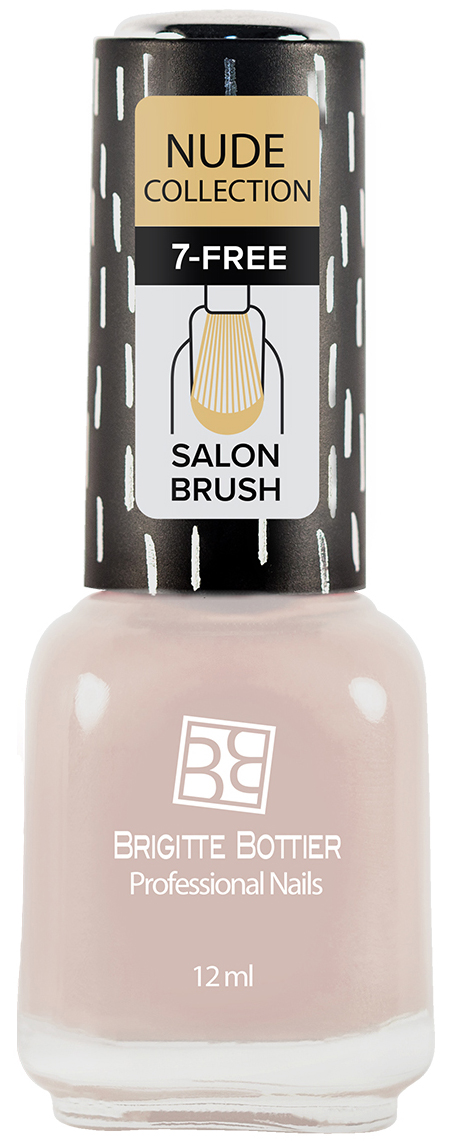 Brigitte Bottier лак для ногтей Nude Collection тон 185 розово-бежевый, 12 мл