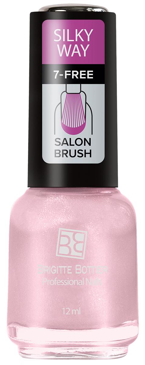 Brigitte Bottier лак для ногтей Silky Way тон 566 нежная роза, 12 млBB-TSNЛак Silky Way после полного высыхания приобретает неповторимую матовую поверхность с текстурой, напоминающей яркие, струящиеся натуральные шелка с их утонченной, мягкой игрой света.