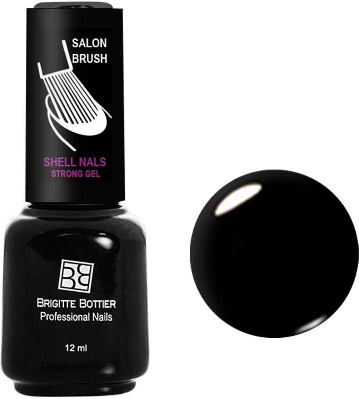 Brigitte Bottier лак для ногтей гелевый Shell Nails тон 901 черный, 12 млBB-SN 901Покрытие Shell Nails соединяет лучшие качества геля и лака: быстро и ровно наносится, прекрасно выглядит, совершенно не боится повреждений, снимается без малейшего вреда для ногтевых пластин. Стойкое покрытие Shell Nails имеет классический блеск, насыщенный цвет и отличается невероятной прочностью.