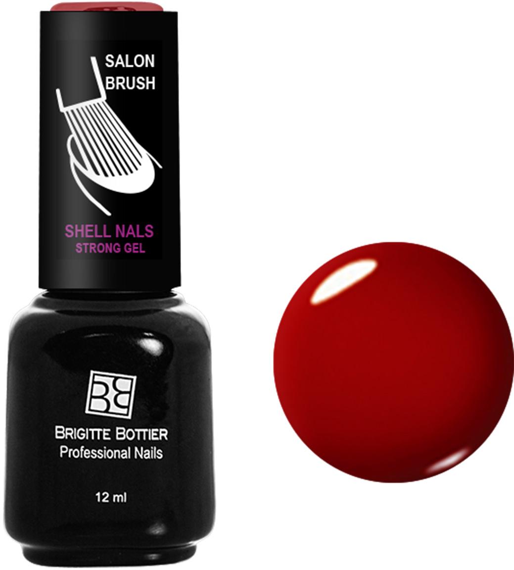 Brigitte Bottier лак для ногтей гелевый Shell Nails тон 906 красный рубин, 12 млBB-SN 906Покрытие Shell Nails соединяет лучшие качества геля и лака: быстро и ровно наносится, прекрасно выглядит, совершенно не боится повреждений, снимается без малейшего вреда для ногтевых пластин. Стойкое покрытие Shell Nails имеет классический блеск, насыщенный цвет и отличается невероятной прочностью.