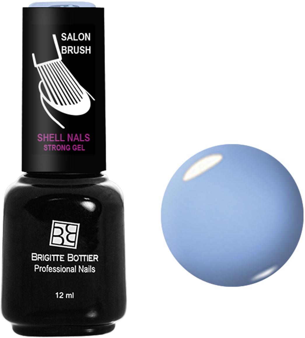 Brigitte Bottier лак для ногтей гелевый Shell Nails тон 907 голубая лазурь, 12 млBB-SN 907Покрытие Shell Nails соединяет лучшие качества геля и лака: быстро и ровно наносится, прекрасно выглядит, совершенно не боится повреждений, снимается без малейшего вреда для ногтевых пластин. Стойкое покрытие Shell Nails имеет классический блеск, насыщенный цвет и отличается невероятной прочностью.