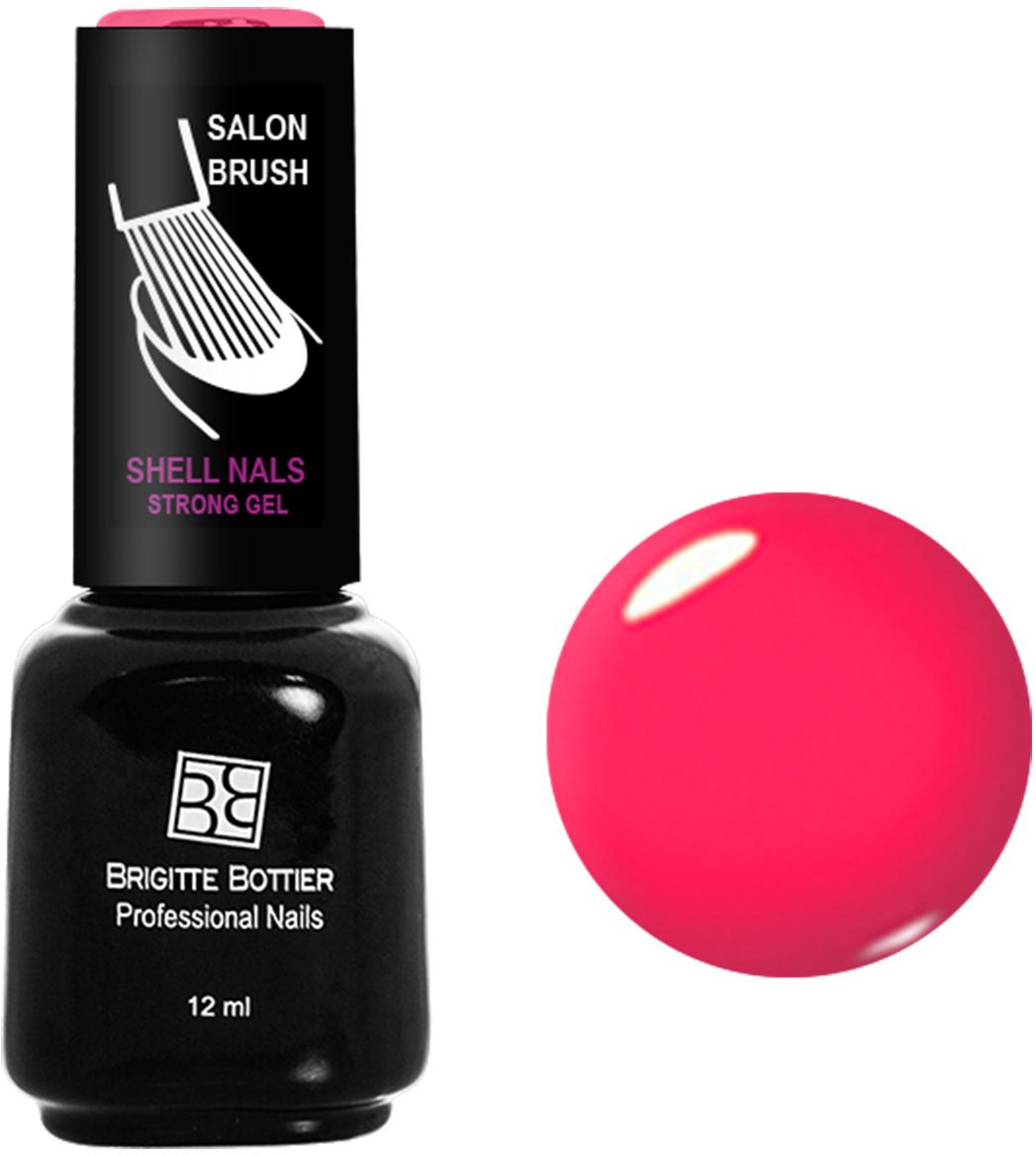 Brigitte Bottier лак для ногтей гелевый Shell Nails тон 908 ультра розовый, 12 млBB-SN 908Покрытие Shell Nails соединяет лучшие качества геля и лака: быстро и ровно наносится, прекрасно выглядит, совершенно не боится повреждений, снимается без малейшего вреда для ногтевых пластин. Стойкое покрытие Shell Nails имеет классический блеск, насыщенный цвет и отличается невероятной прочностью.