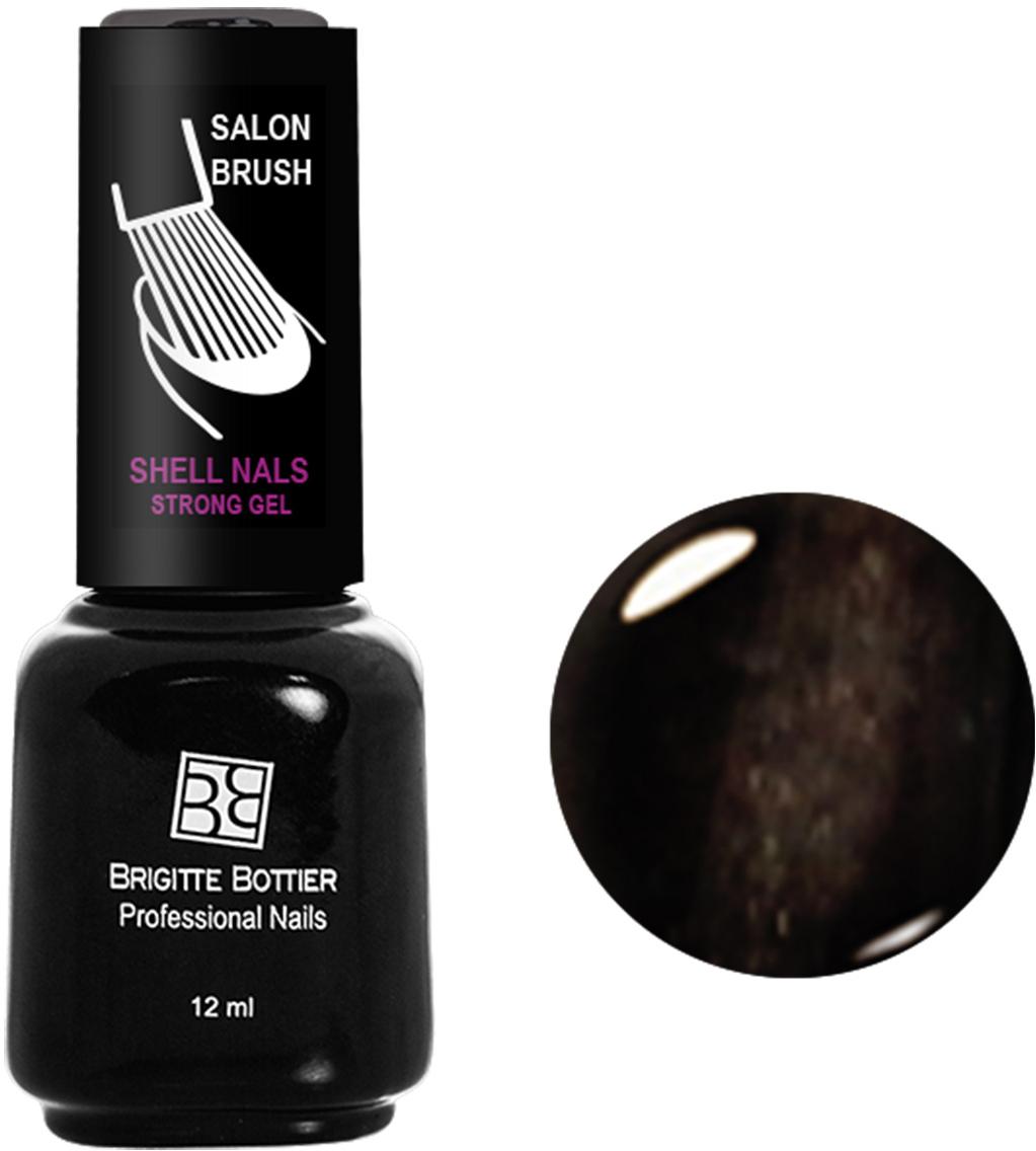 Brigitte Bottier лак для ногтей гелевый Shell Nails тон 948 коричневый кошачий глаз, 12 млBB-SN 948Покрытие Shell Nails соединяет лучшие качества геля и лака: быстро и ровно наносится, прекрасно выглядит, совершенно не боится повреждений, снимается без малейшего вреда для ногтевых пластин. Стойкое покрытие Shell Nails имеет классический блеск, насыщенный цвет и отличается невероятной прочностью.