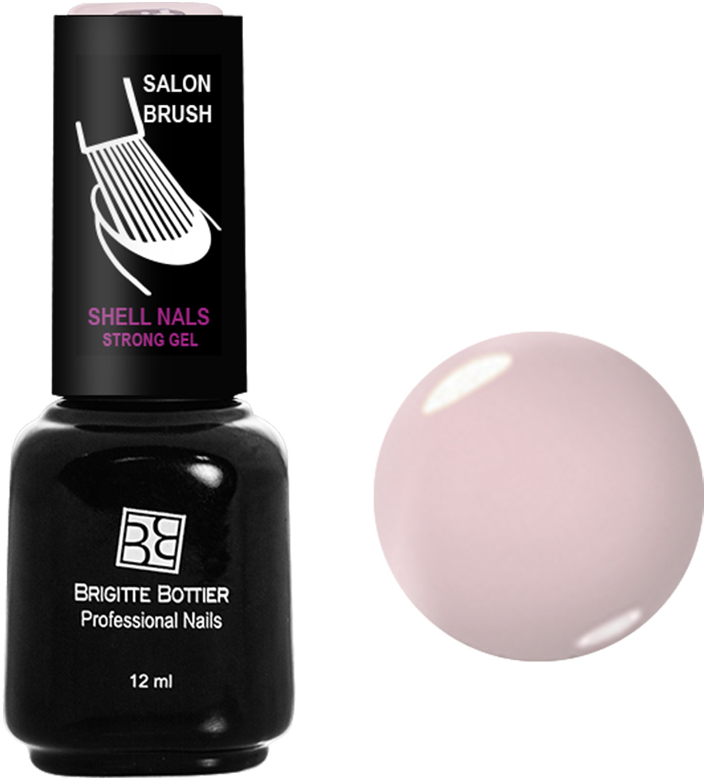 Brigitte Bottier лак для ногтей гелевый Shell Nails тон 956 розовый кварц, 12 млBB-SN 956Покрытие Shell Nails соединяет лучшие качества геля и лака: быстро и ровно наносится, прекрасно выглядит, совершенно не боится повреждений, снимается без малейшего вреда для ногтевых пластин. Стойкое покрытие Shell Nails имеет классический блеск, насыщенный цвет и отличается невероятной прочностью.