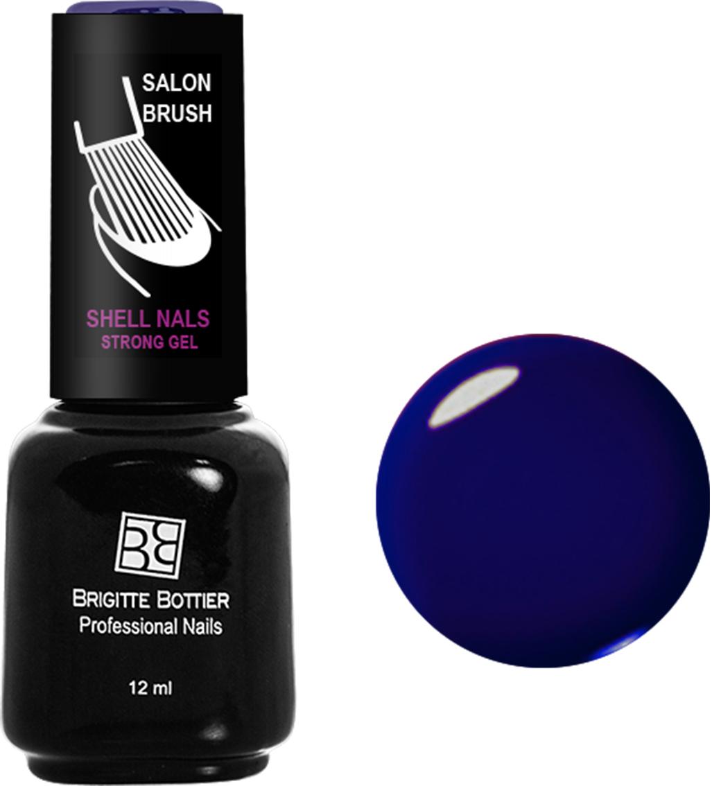 Brigitte Bottier лак для ногтей гелевый Shell Nails тон 977 темный синий, 12 млBB-SN 977Покрытие Shell Nails соединяет лучшие качества геля и лака: быстро и ровно наносится, прекрасно выглядит, совершенно не боится повреждений, снимается без малейшего вреда для ногтевых пластин. Стойкое покрытие Shell Nails имеет классический блеск, насыщенный цвет и отличается невероятной прочностью.