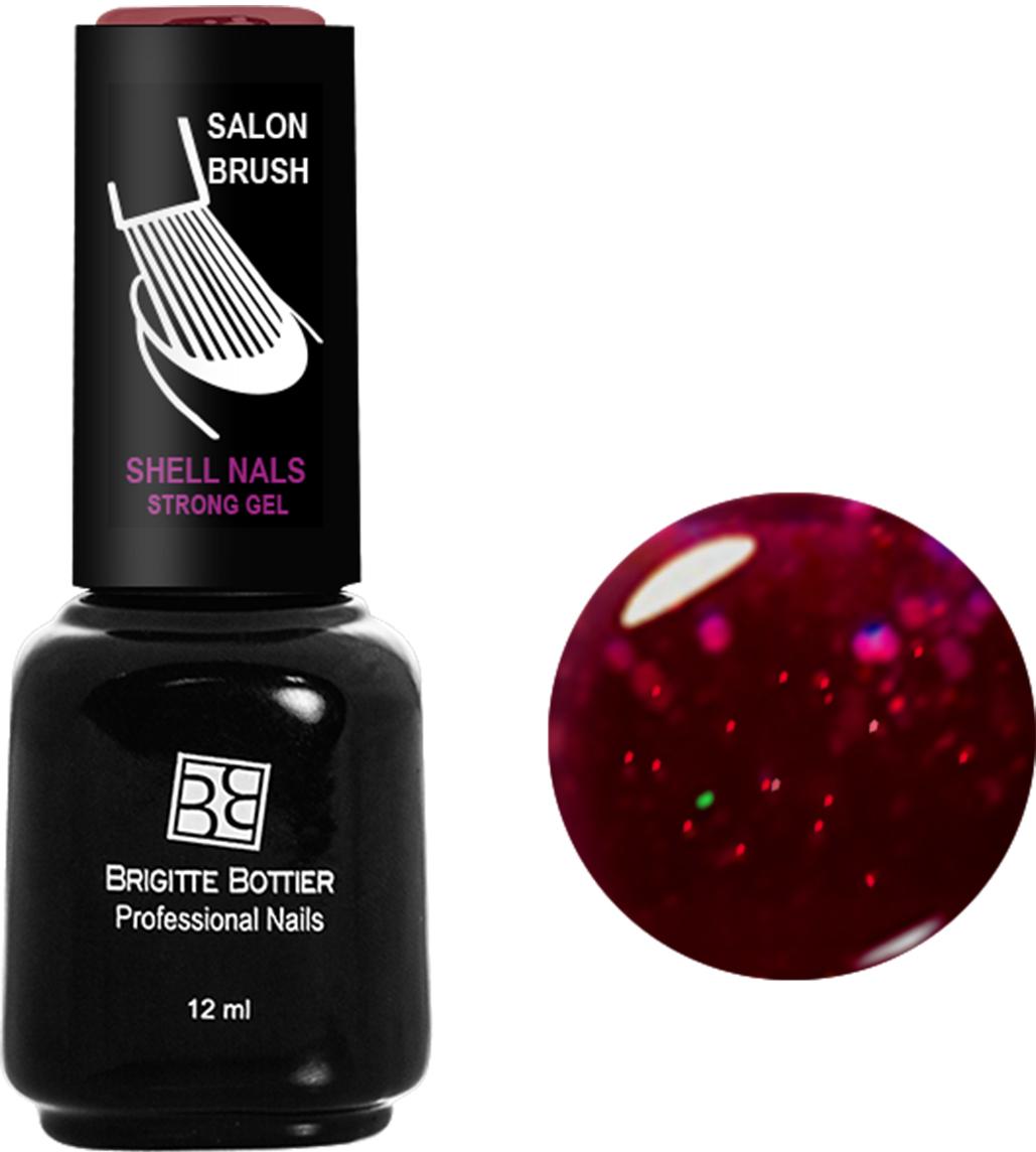 Brigitte Bottier лак для ногтей гелевый Shell Nails тон 981 красный с большими блестками, 12 млBB-SN 981Покрытие Shell Nails соединяет лучшие качества геля и лака: быстро и ровно наносится, прекрасно выглядит, совершенно не боится повреждений, снимается без малейшего вреда для ногтевых пластин. Стойкое покрытие Shell Nails имеет классический блеск, насыщенный цвет и отличается невероятной прочностью.