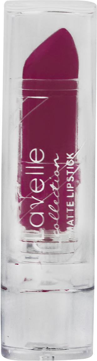 LavelleCollection помада для губ матовая LS-09/08 тон 10 сливовый, 3,8 г