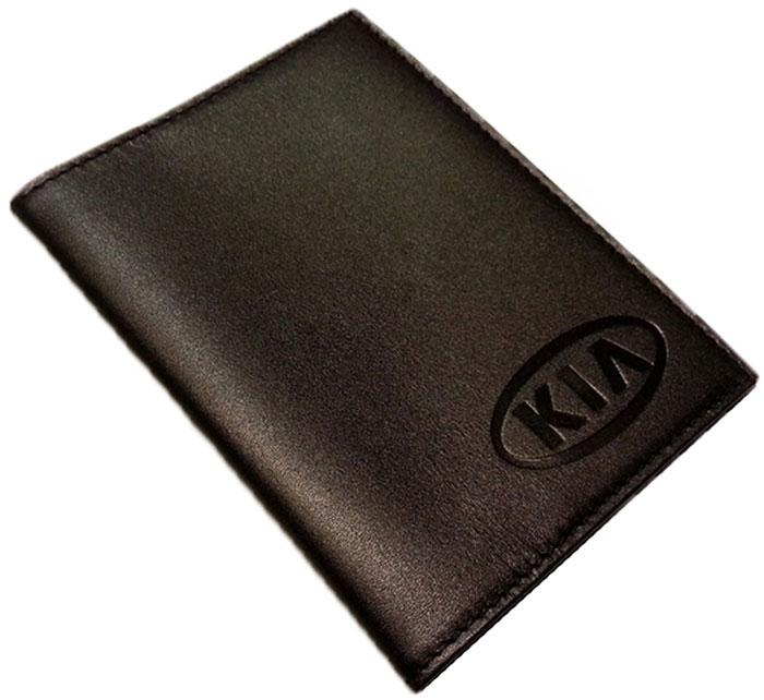 """Обложка для автодокументов Auto Premium """"Kia"""""""