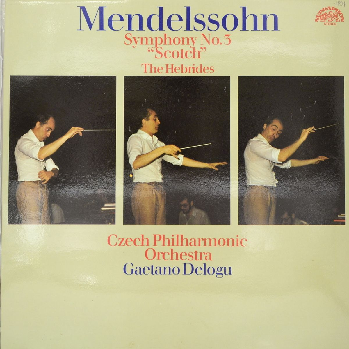 Felix Mendelssohn-Bartholdy - Symphony No. 3 (LP)