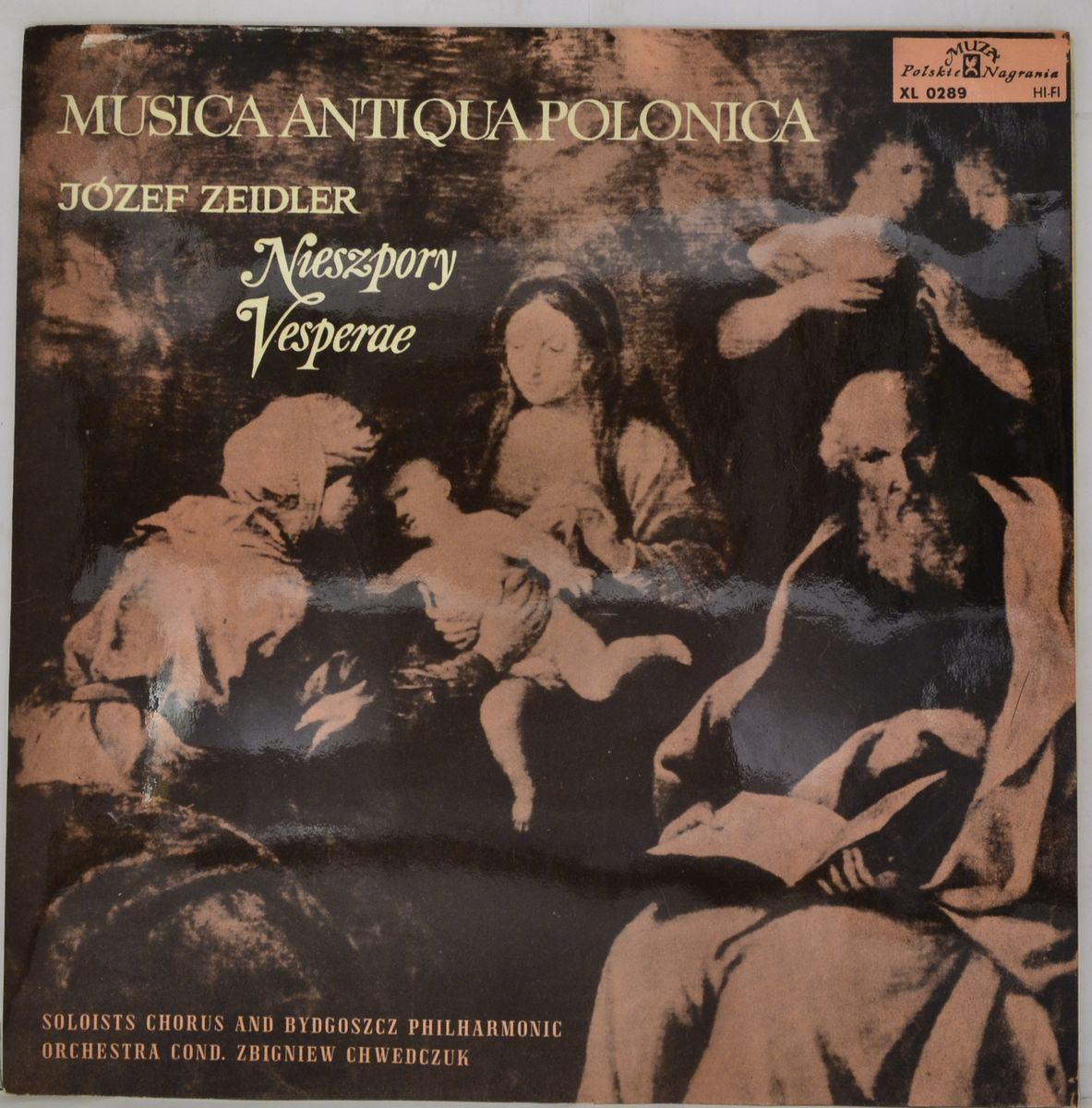 Jozef Zeidler – Nieszpory. Vesperae (1787) (LP) tenor saxophone instrument 54 selmer b flat saxophone tenor antique copper free shipping sound quality promotions sax