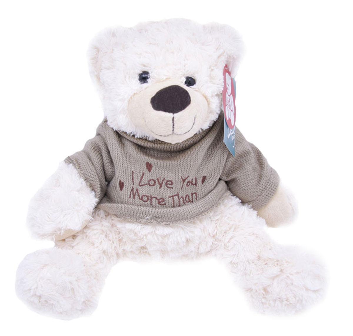 Magic Bear Toys Мягкая игрушка Мишка Этан в свитере 28 см 1 piece light brown high quality low price stuffed plush toys large size100cm teddy bear 1m big bear doll lovers birthday gift