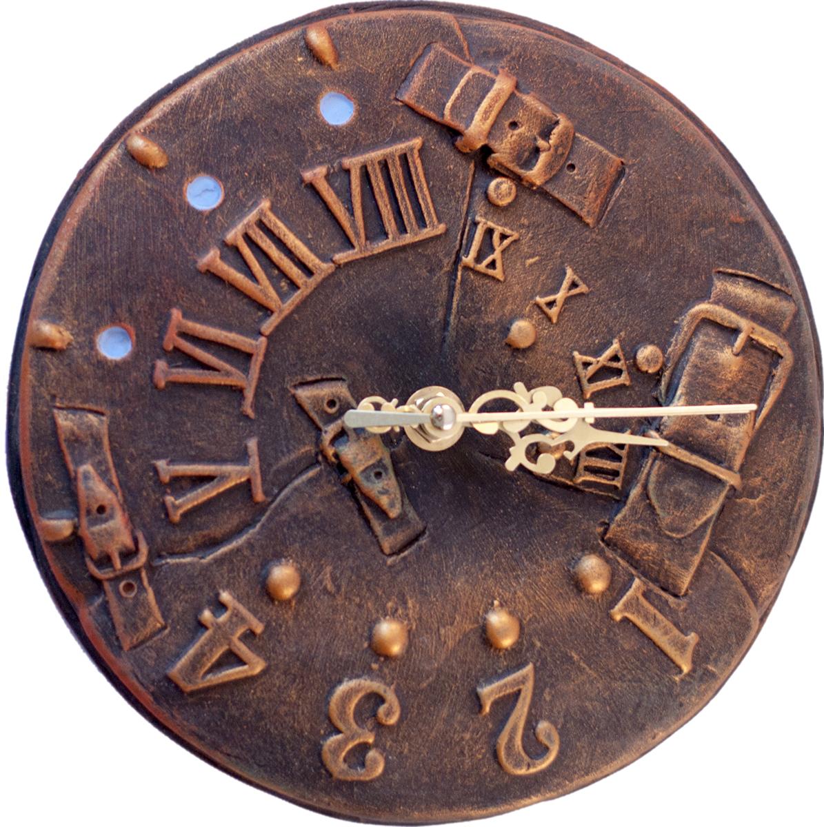 """Дизайнерские настенные часы """"Гардарик"""" nikch17ch4 из серии """"Стим Панк"""" - эта уникальная авторская вещь, хранит творческую энергию создателя, и, получив ее в домашнюю коллекцию, Вы ощутите не только гордость обладателя раритета, но и чувство сопричастности тому мгновению, в которое родилось произведение и наглядно убедитесь, что миг неповторим! Уважаемые клиенты! Изделие, выполненное под заказ, может незначительно отличаться от фотографии, общий вид остается."""