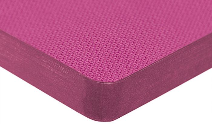Hatber Бизнес-блокнот Лайт Dobby 128 листов в клетку цвет розовый 44257