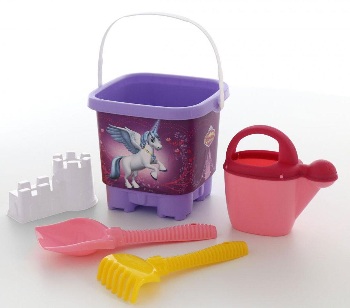 Disney Набор игрушек для песочницы София Прекрасная №4 полесье набор для песочницы 469