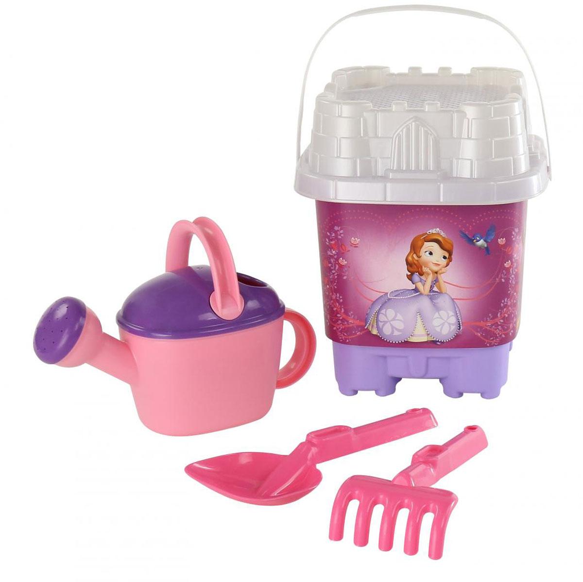 Disney Набор игрушек для песочницы София Прекрасная №6 полесье набор для песочницы 469
