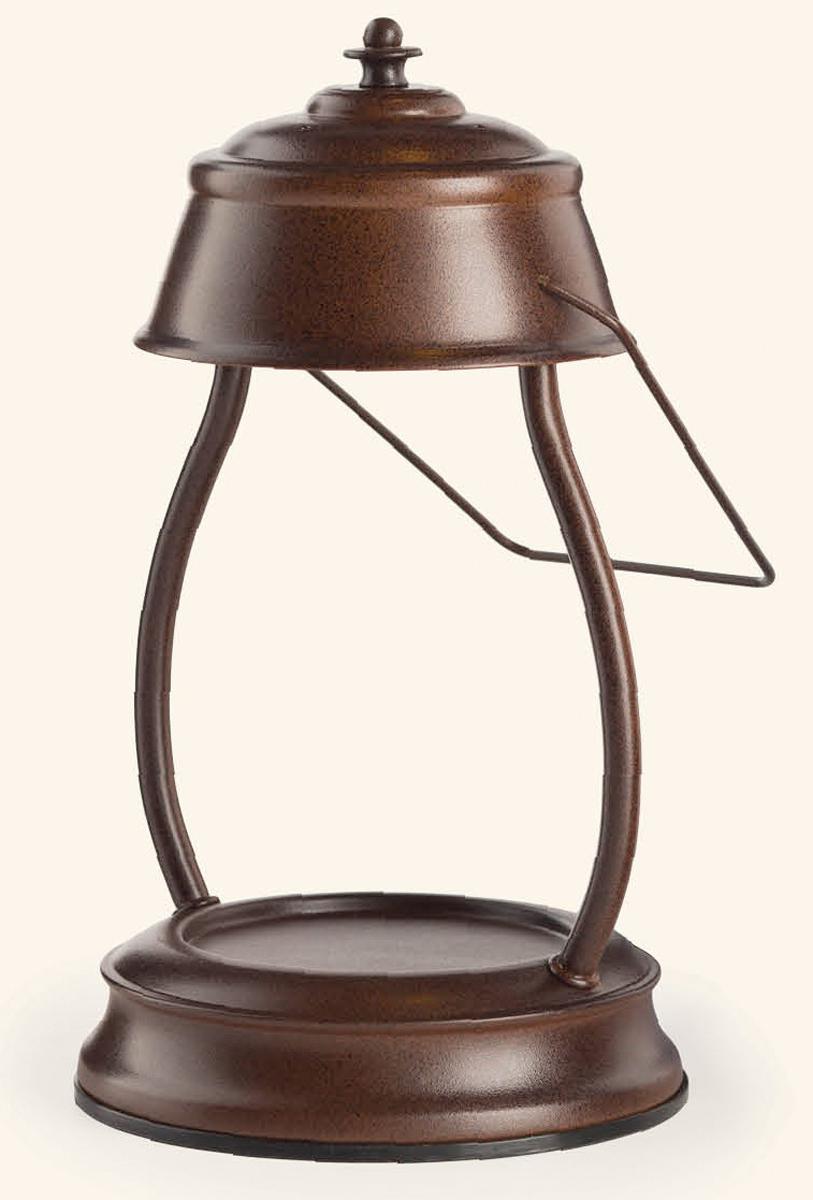 Аромалампа Candle Warmers Hurricane, цвет: коричневый. HLRB-GHLRB-GПредставляем Вашему вниманию лаконичный дизайн и узнаваемый стиль ламп и фонарей от Candle Warmers в современном и классическом стиле.Используйте их для освещения комнаты, декора, а также для ароматизации помещения. Поместите под лампу свечу нужного размера, и наслаждайтесь любимым ароматом без зажигания свечи.Прекрасно подойдёт для безопасного использования без применения огня. При ослаблении аромата , жидкий воск можно вылить, и свеча зазвучит по новому.Подойдёт диаметр свечи 10 см, высота 14 см без крышки. Свеча на фото не поставляется в комплекте с лампой.