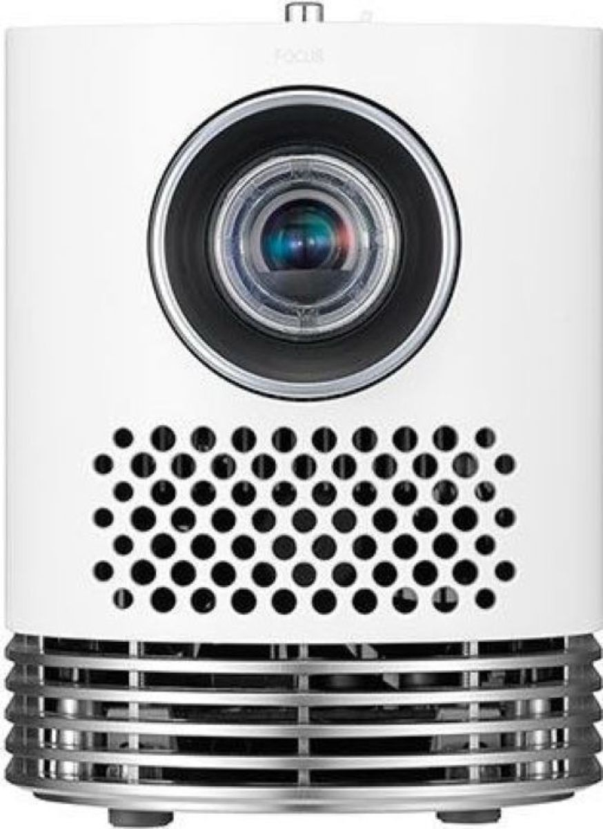 LG HF80JS, White мультимедийный проектор