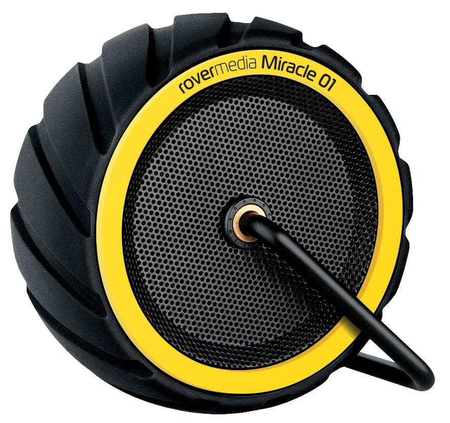 RoverMedia Miracle 0.1, Black портативная акустическая система