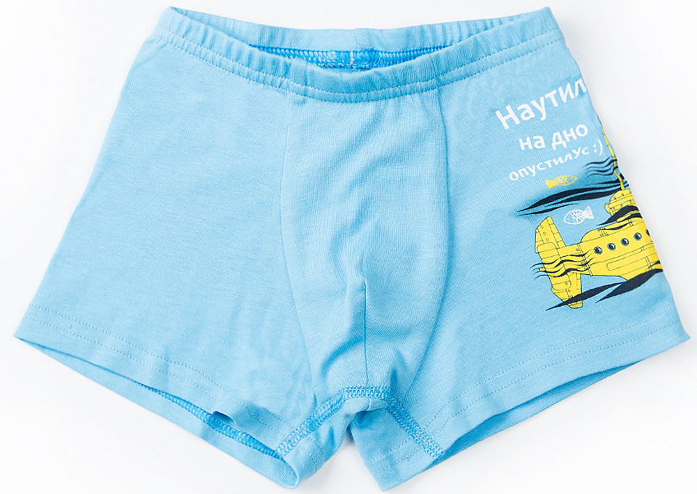 Трусы для мальчика Mark Formelle, цвет: голубой. 2718-0. Размер 116/122 трусы donella для мальчика цвет синий голубой