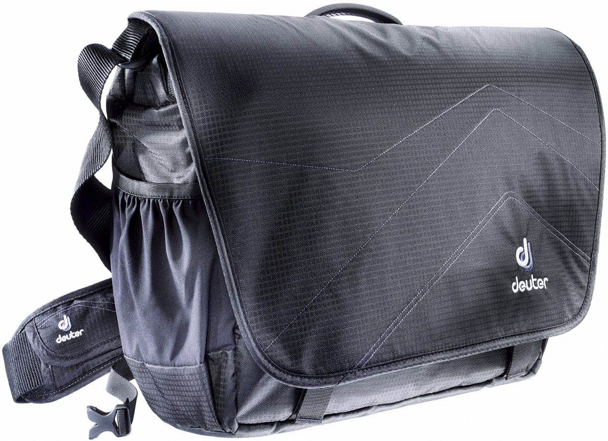 Deuter Сумка на плечо Shoulder Bags Operate III цвет черный серебристый сумка deuter сумка shoulder bags operate i бирюзовая