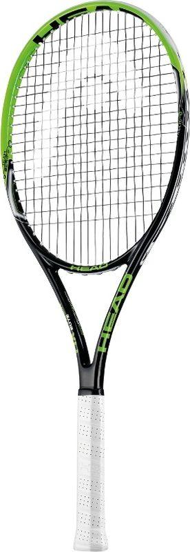 Ракетка теннисная HEAD MX Cyber Elite, ручка 3231153Композитная ракетка начального уровня. Размер головы 660см2, вес 275 гр.