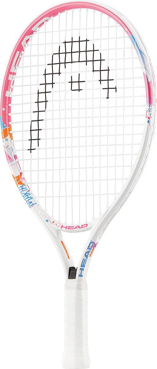 Ракетка теннисная детская HEAD Maria 19, ручка 5233737Алюминиевая ракетка для девочки 2-4 лет. Длина 485 мм, размер головы 520 см2, вес 175 гр.