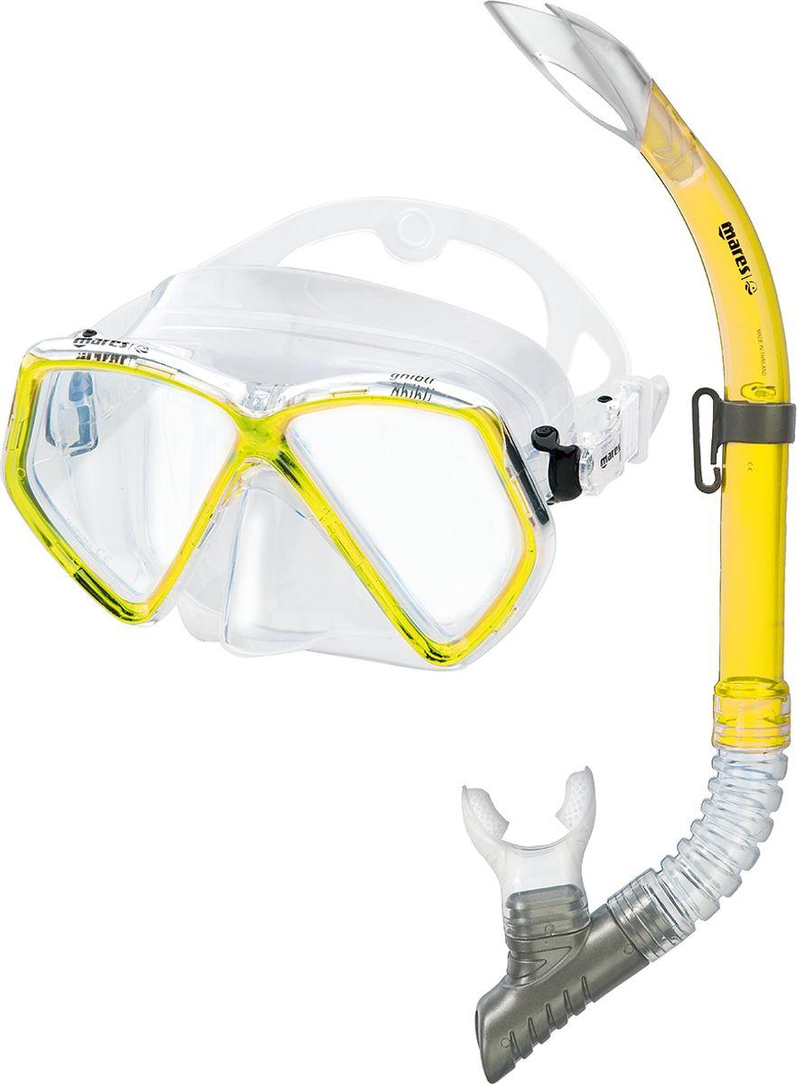 Набор для плавания HEAD Set GHIBLI: маска, трубка411724-RYLCLНабор для плавания: маска + трубка.