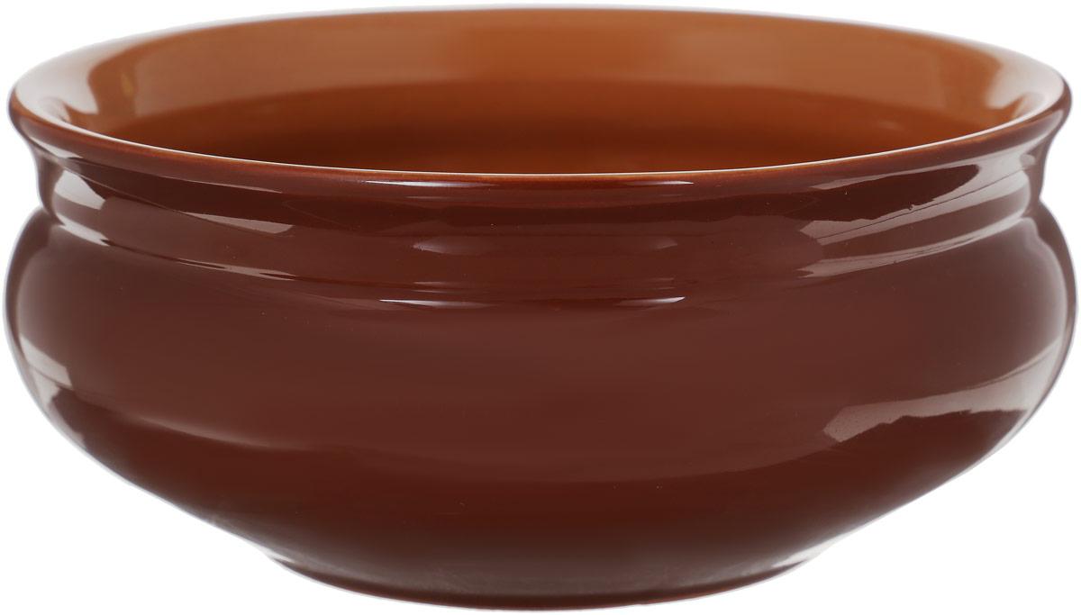 Тарелка глубокая Борисовская керамика Скифская, цвет: темно-коричневый, 800 млРАД14457937_темно-коричневыйГлубокая тарелка Борисовская керамика Скифская выполнена из высококачественной керамики. Изделие сочетает в себе изысканный дизайн с максимальной функциональностью. Она прекрасно впишется в интерьер вашей кухни и станет достойным дополнением к кухонному инвентарю. Тарелка Борисовская керамика Скифская подчеркнет прекрасный вкус хозяйки и станет отличным подарком. Можно использовать в духовке и микроволновой печи.Диаметр тарелки (по верхнему краю): 16 см.Объем: 800 мл.