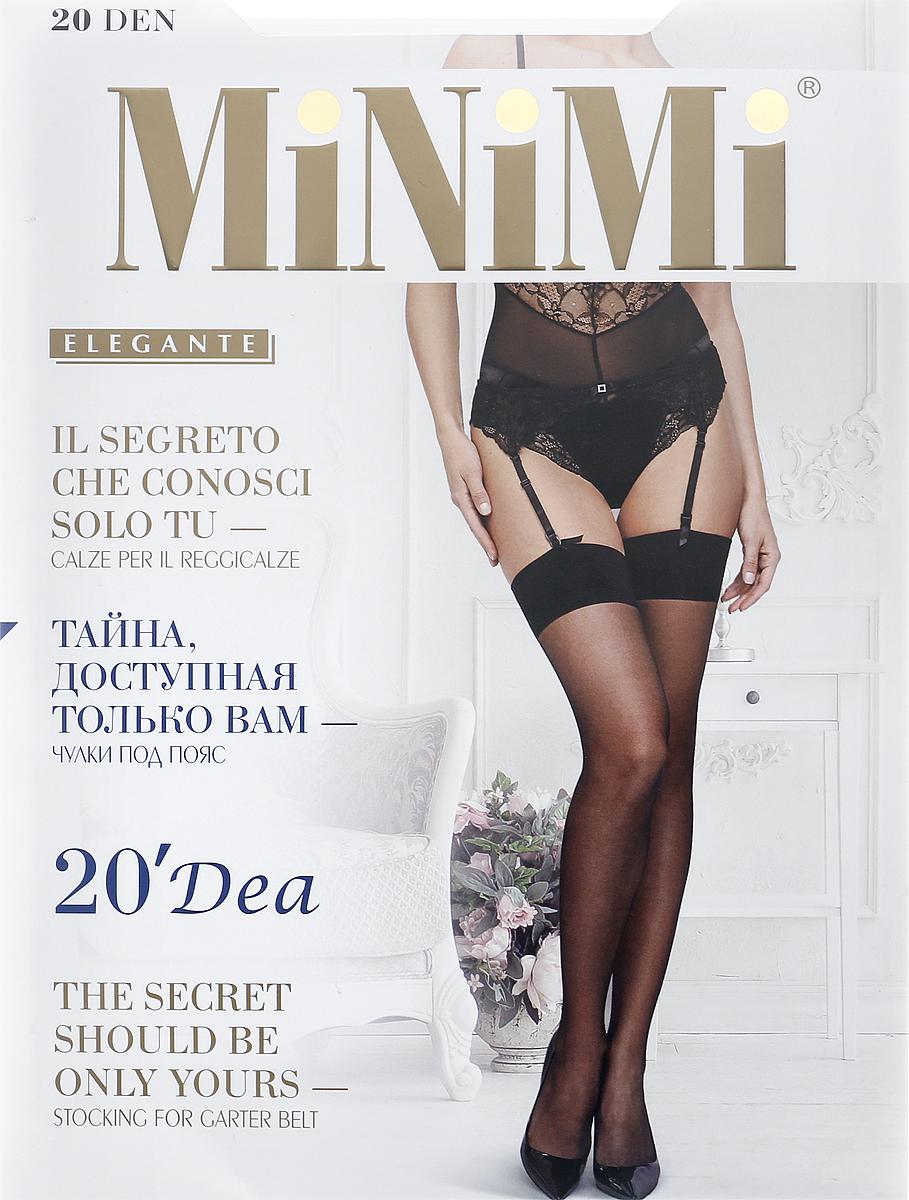 Чулки Minimi Calze Dea 20, цвет: Bianco (белый). SNL-399900. Размер 4 чулки белые bianco 3 4