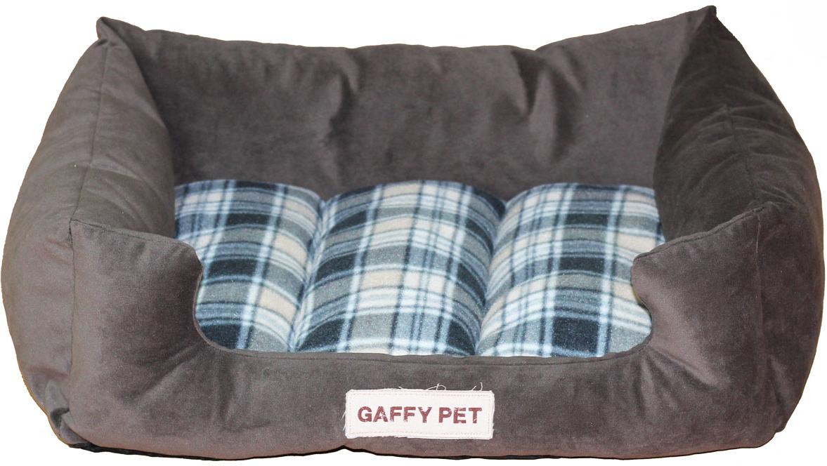Лежак для животных Gaffy Pet Клетка Plaid, цвет: серый, 70 х 55 х 23 см11258LНовая коллекция из серии КЛЕТКА PLAID из прочных профессиональных тканей. Антикоготь. Советуем в больших размерах M/L. Мягкая и очень уютная, прекрасно для щенков и котят.