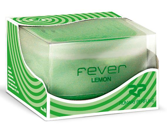 Ароматизатор воздуха Runway Fever. Lemon, цвет: зеленыйK-1015Ароматизатор воздуха. Идеален для придания приятного аромата воздуху в салоне автомобиля. Имеет приятный запах.