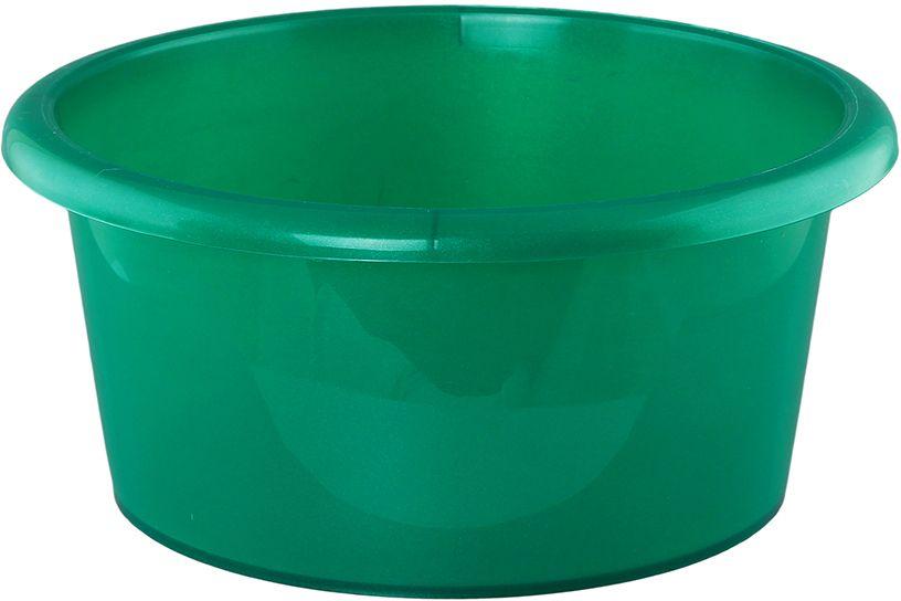 Таз Violet Изумруд, цвет: зеленый, 10 л таз азалия объем 10 л цвет зеленый 952965