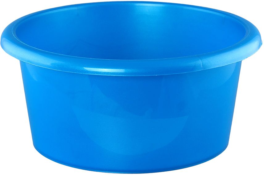 Таз Violet Сапфир, цвет: синий, 10 л810435Таз это незаменимый и необходимый предмет для каждой хозяйки, может быть использован как для стирки, так и для уборки, а так же для гигиенических процедур.