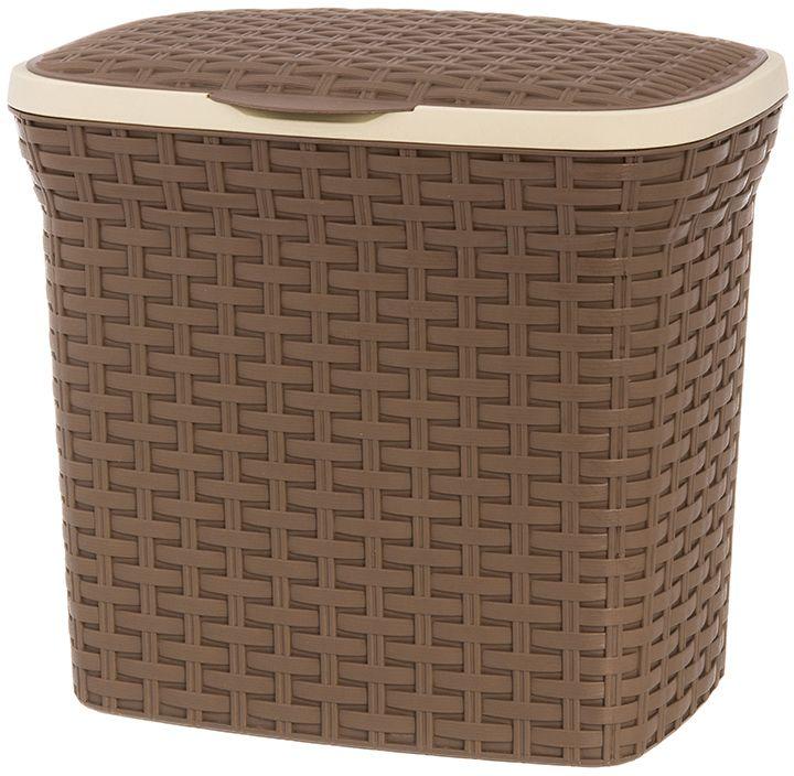 """Контейнер для стирального порошка """"Violet"""" вместителен, поможет организовать пространство в вашем доме, а благодаря своему дизайну подойдет к любому интерьеру, что, несомненно, придется по душе каждой хозяйке! Контейнер выполнен из полипропилена."""