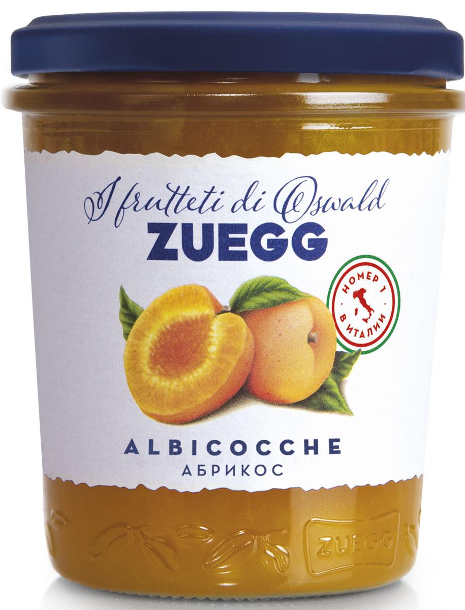 Zuegg Абрикос конфитюр, 320 г конфитюр zuegg экстра абрикос 320г