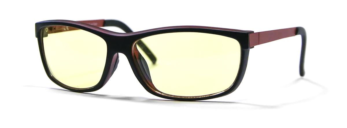 FOSTER GRANT Очки для геймеров Eye-Gear EG102 BKR4690452048642Оригинальная коллекция очков Foster Grant Eye-Gear, созданная специально для продвинутых геймеров. Восемь моделей очков в комбинированных оправах с комфортной посадкой снабжены особыми линзами желтого оттенка. Эти линзы задерживают до 76% лучей синего цвета, излучаемого экранами электронных устроиств, повышают четкость картинки и нейтрализует отвлекающие блики. Модели спортивного дизайна за счет обтекаемой формы позволяют задействовать боковое зрение. Каждая пара очков идет в стильном тканевом футляре. Eye-Gear - это удобные и надежные очки для продвинутых геймеров. Современные и стильные дизайны оправ; супертонкие и суперпрочные линзы из поликарбоната, устойчивы к царапинам; трехслойное антибликовое покрытие, нейтрализующее отблески и повышающее четкость восприятия.